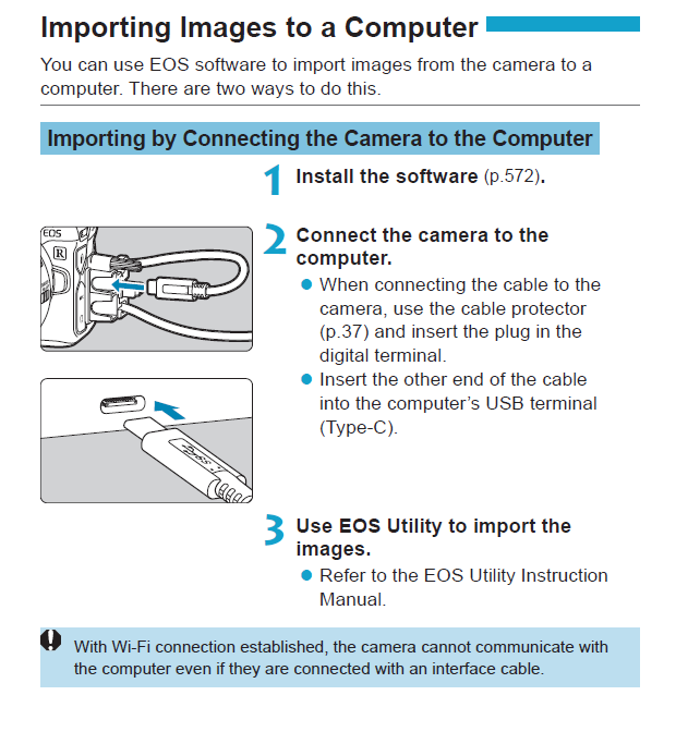 Canon Knowledge Base - Importing images from the EOS R to a computer