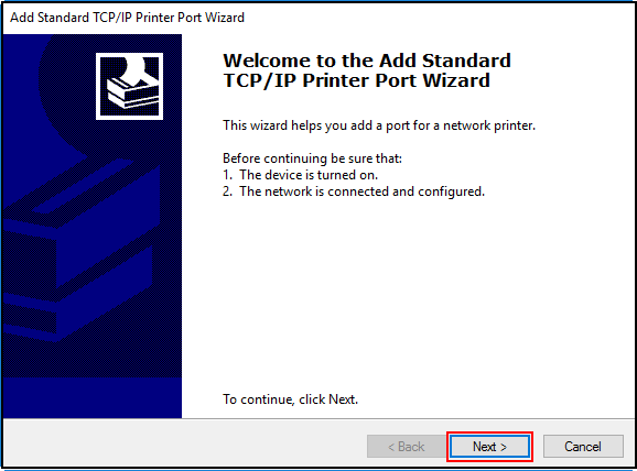 how to add tcp ports