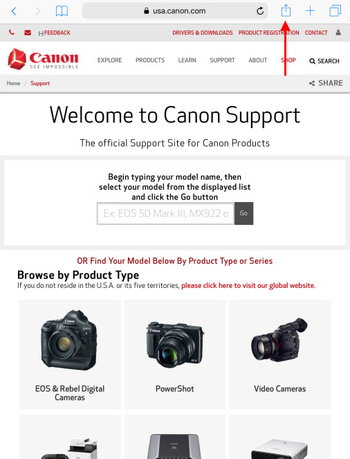 Canon Knowledge Base - Print using AirPrint from your iOS