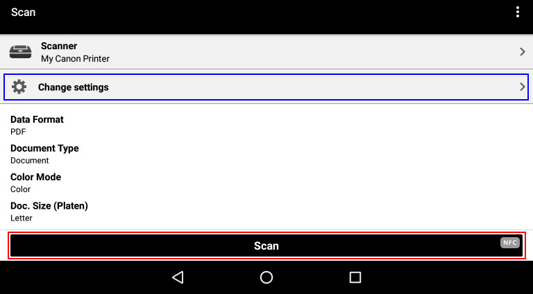 Scanner Library Android
