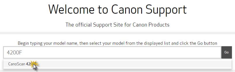 Canon knowledge base download and install latest version of.