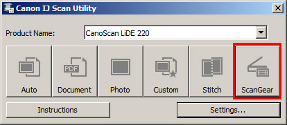 canon lide 110 software download windows 7