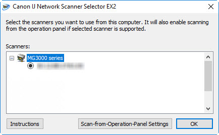 Canon Knowledge Base - IJ Network Scanner Selector - MG3000 Series