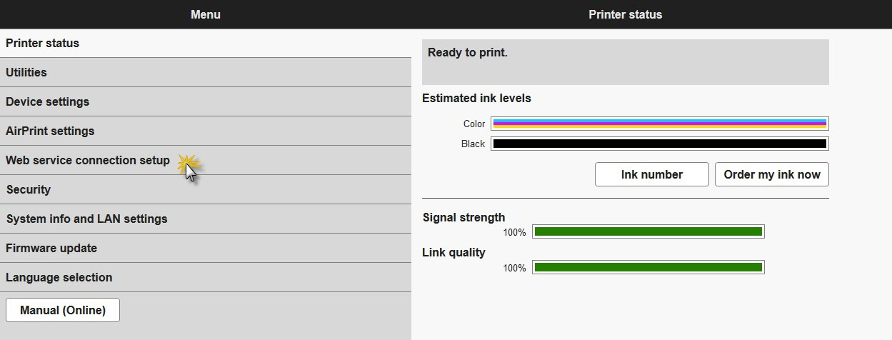 Canon Knowledge Base - Google Cloud Print Setup - MG3620