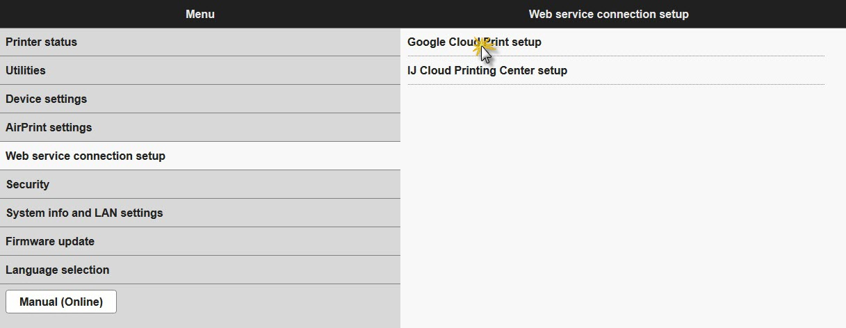 Canon Knowledge Base - Google Cloud Print Setup - MG3620