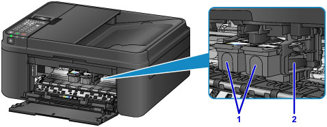 Canon Knowledge Base - Main Components of the Printer ...