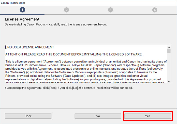 Image of Lease Agreement screen