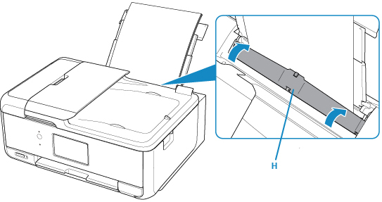 Canon Knowledge Base - Loading Paper in the Rear Tray