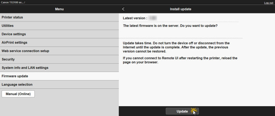 Canon Knowledge Base - Updating the Firmware via the Remote