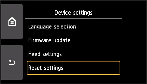 Canon Knowledge Base - How Do I Reset the Settings on My