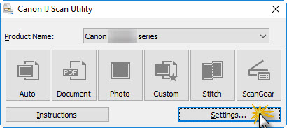 Canon Knowledge Base Ij Scan Utility Document Scan