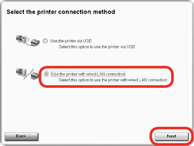 how to connect printer in lan