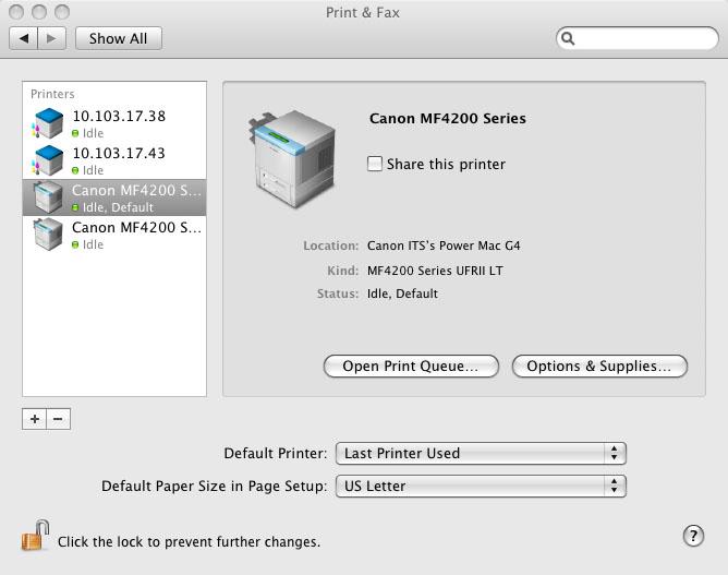 Canon mf4200 драйвер скачать