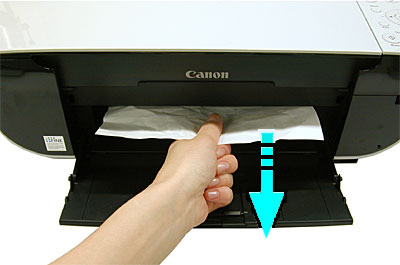 canon printer paper jam