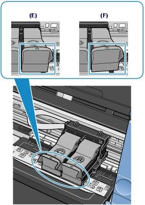 how to put ink cartridge in canon printer mp250