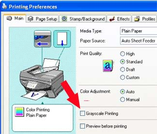 Canon Knowledge Base - If the image prints black and white instead ...