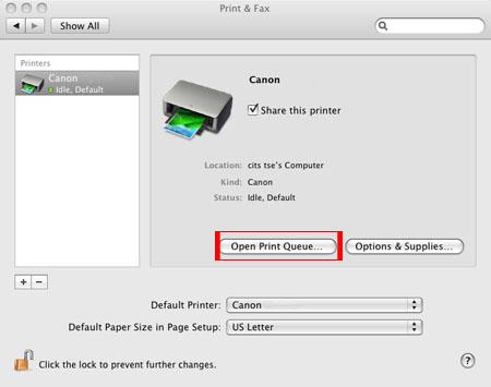 Canon printers for mac
