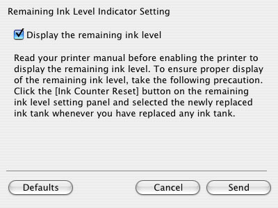 Canon Knowledge Base - Reset the Ink Counter (Mac OS X)