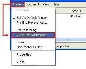 Canon Knowledge Base - Delete queued print jobs to resolve printing