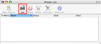 how to add printer to mac canon