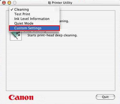 canon i865 mac os x