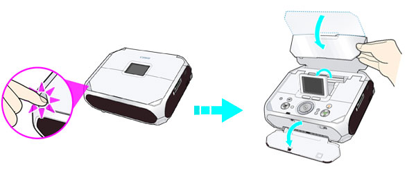 Canon Knowledge Base - Set the Paper Thickness lever to the