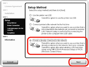 Canon Knowledge Base - Setup the MX860 for use over a ...
