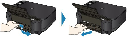 Canon Knowledge Base - Removing Paper Jams - MG5220