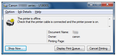 Canon Knowledge Base - Auto Power Feature (iP4920)