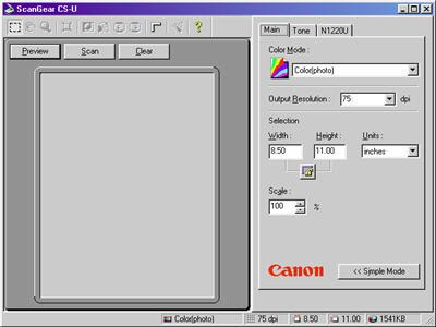 CANOSCAN N650U N656U DRIVERS WINDOWS XP