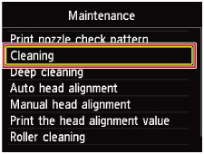 Canon Knowledge Base - Clean the print head to improve ...