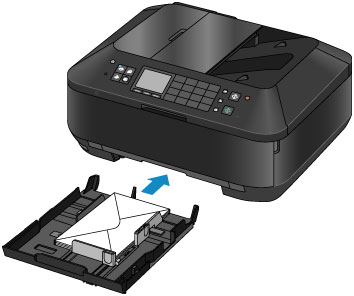 Canon Knowledge Base - Load and print on envelopes - MX922