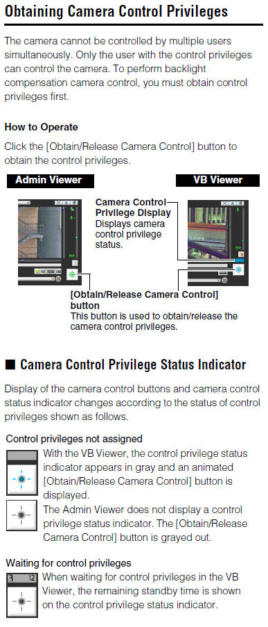 Canon Knowledge Base - Obtaining Camera Control Priviledges