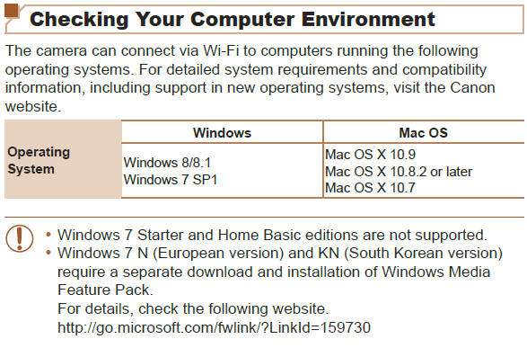 Canon Knowledge Base - Checking Your Computer Enviroment (OS)