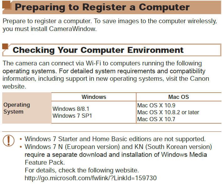 Canon Knowledge Base - Preparing to Register a Computer