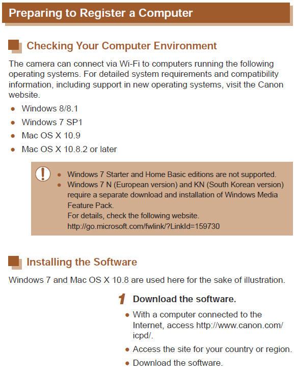 Canon Knowledge Base - Preparing to Register a Computer via Wi-Fi