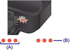 Canon Knowledge Base - Light flashes orange five times - iX6520
